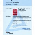 Certyfikat ISO 9001 2015 (PL)