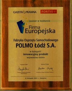 Firma Europejska 2007