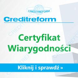 Certyfikat wiarygodności.