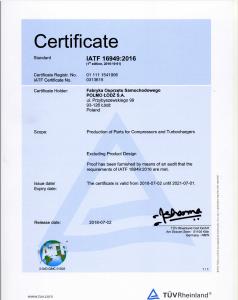 IATF 16949 (2018-2021)